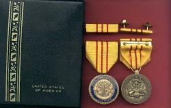 Vietnam 25th Anniversary Army Commemorative medal with ribbon bar